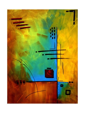 Bold Abstract Geometric Prints by Megan Aroon Duncanson