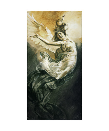Fallen III Giclee Print by Heather Theurer