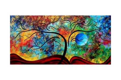 Blue Moon Rising Prints by Megan Aroon Duncanson