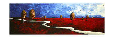 Winding Road Posters by Megan Aroon Duncanson