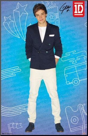 1D - Liam - Pop Mounted Print