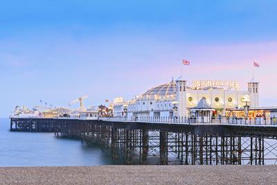 Europe, United Kingdom, England, East Sussex, Brighton and Hove, Brighton, Palace (Brighton) Pier Photographic Print by Alex Robinson