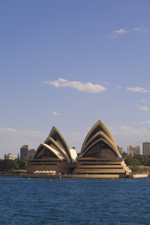 A View of the Sydney Opera House from across the Harbor Photographic Print by Sergio Pitamitz