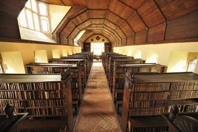 Merton College Library, a World-Class Research Facility Since 1589 Fotoprint av Jim Richardson