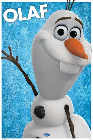 Frozen - Olaf Prints