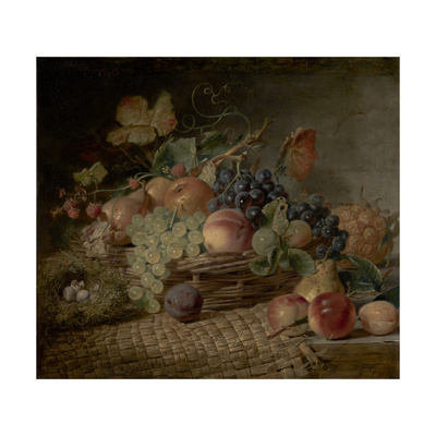 Fruit ('The Autumn Gift') Giclee Print by George Lance