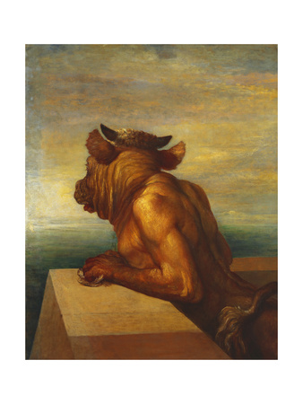 The Minotaur Giclee Print by George Frederic Watts
