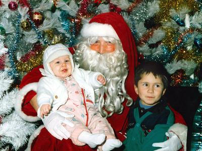 Santa Claus and Children Fotografía