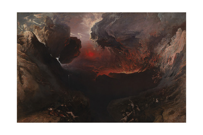 The Great Day of His Wrath Giclee Print by John Martin