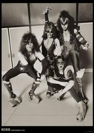 Kiss – Amsterdam 1976 Prints