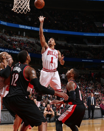 Portland Trail Blazers v Chicago Bulls Photo by Gary Dineen