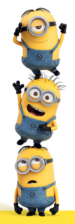 Despicable Me - 3 Minions Posters