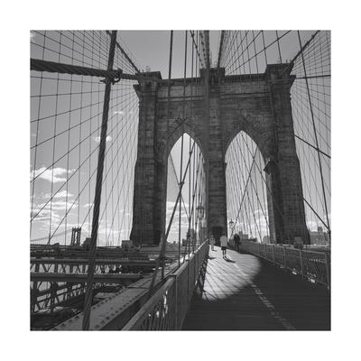 Brooklyn Bridge, New York City Photographic Print by Henri Silberman
