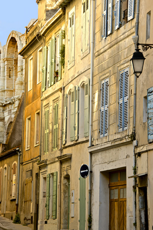 Old Town Street, Rue Des Arenes, Arles, Bouches Du Rhone, Provence, France, Europe Photographic Print by Guy Thouvenin