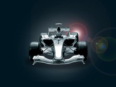 Formula One Car Photographic Print by  Akhilesh