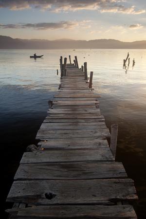 Lago Atitlan, Guatemala, Central America Photographic Print by Colin Brynn