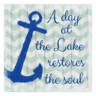 A Day At The Lake Print by Taylor Greene