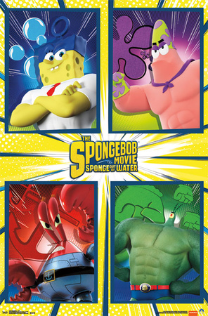 Spongebob 2: Sponge Out Of Water - Team Posters
