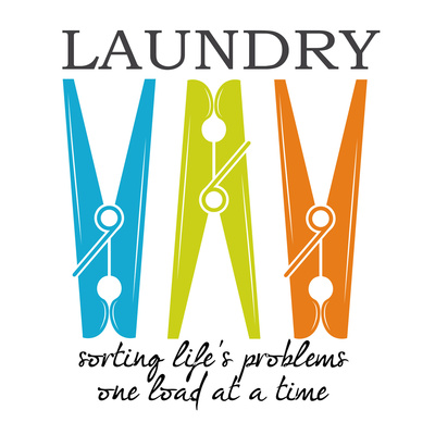 Laundry Sorting Poster by Taylor Greene