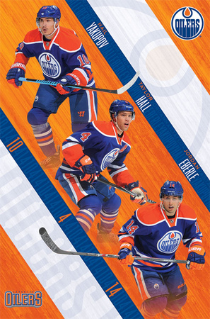 Edmonton Oilers - Trio 14 Photo