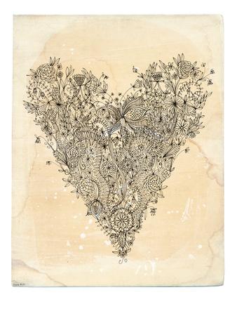 Love Art Print Prints by Paula Mills