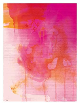 Golden Pink Wash アート : Paula Mills