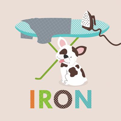 Laundry Iron Posters by Tiffany Everett