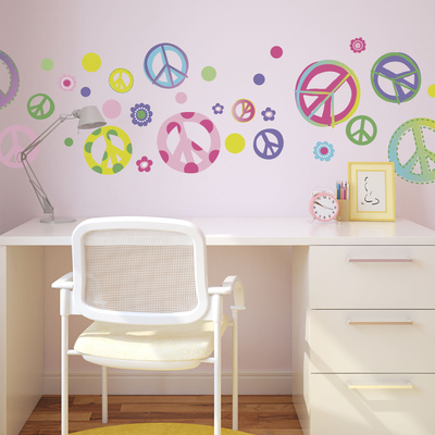 Peace Out! Wall Decal