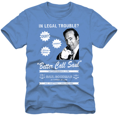 Better Call Saul - Poster Art Tシャツ