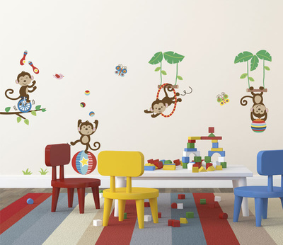 Under the Tree Top Wall Decal