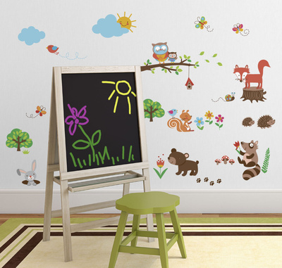 Into the Woods Wall Decal