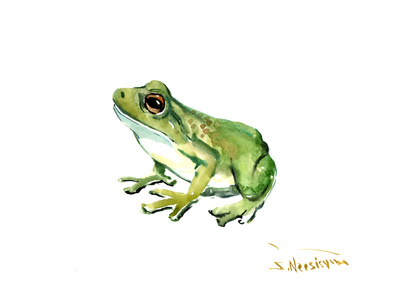 Common Frog Prints by Suren Nersisyan