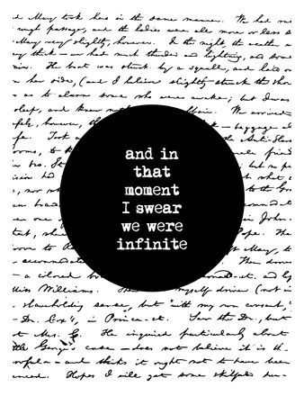 And In That Moment I Swear We Were Infinite Posters by Brett Wilson