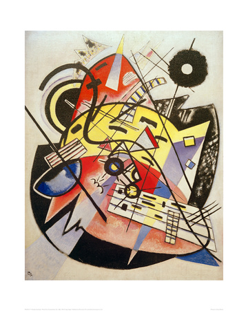 White Dot (Composition No.248) 1923 Giclee Print by Wassily Kandinsky
