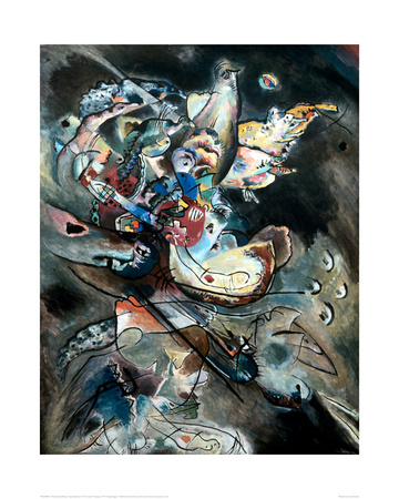 Overcast, 1917 Giclee Print by Wassily Kandinsky