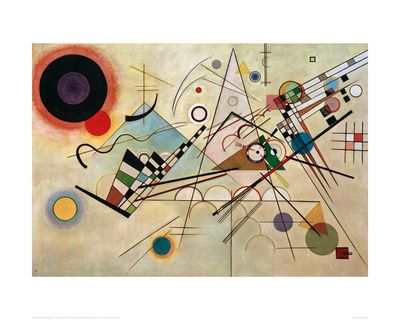 Composition VIII, 1923 Giclee Print by Wassily Kandinsky