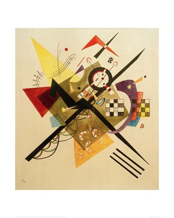 Sketch for On White II, 1922 Giclee Print by Wassily Kandinsky