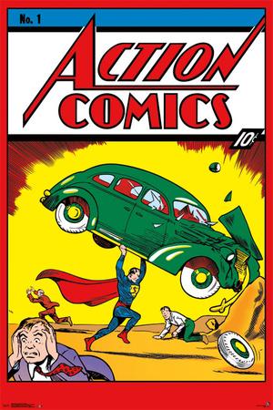 Action Comics No. 1 Prints