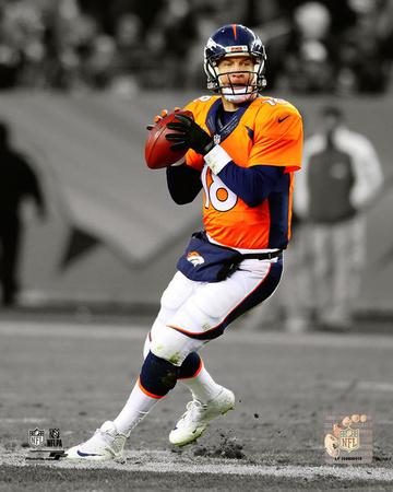 Peyton Manning 2014 Spotlight Action Photo
