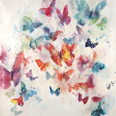 Flutterby Wisps Giclee Print by Farrell Douglass