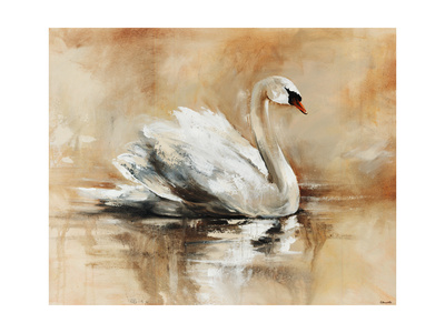 Swan Lake Giclee Print by Sydney Edmunds