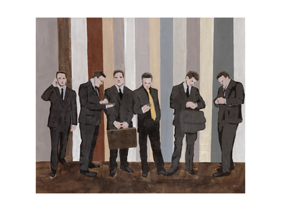 Business As Usual Giclee Print by Clayton Rabo