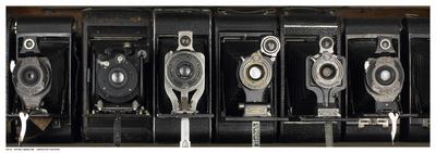 Vintage Camera Row Print