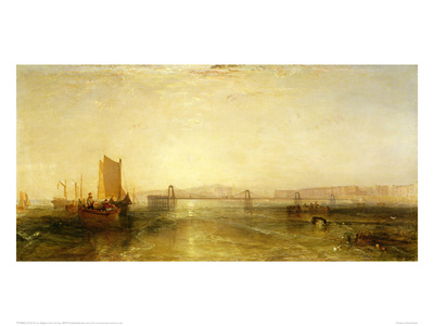Brighton from the Sea, 1829 Giclee Print by J.M.W. Turner