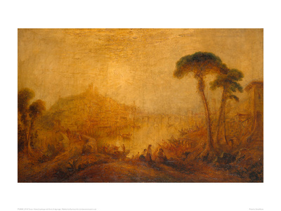Classical Landscape with Forms Giclee Print by J.M.W. Turner