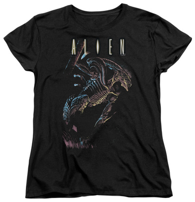 Womens: Alien - Form And Void T-Shirt