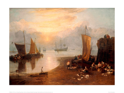 Sun Rising Through Vapour Giclee Print by J.M.W. Turner