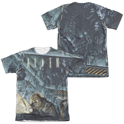 Alien - Lurking (Front/Back Print) T-shirts
