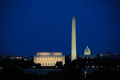 Washington DC Skyline Photographic Print by Matthew Carroll
