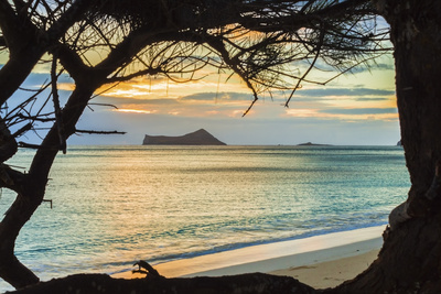 Waimanalo Sunrise 1 Photographic Print by Island Leigh